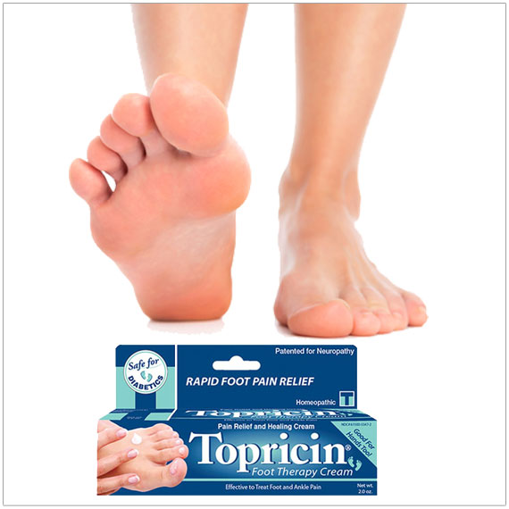 Topricin® Foot Pain Relief Cream
