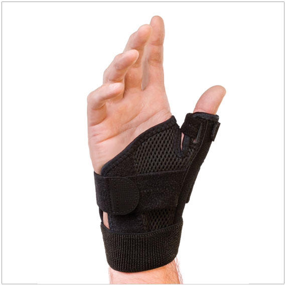 Mueller Thumb Stabilizer Universal Black One Size