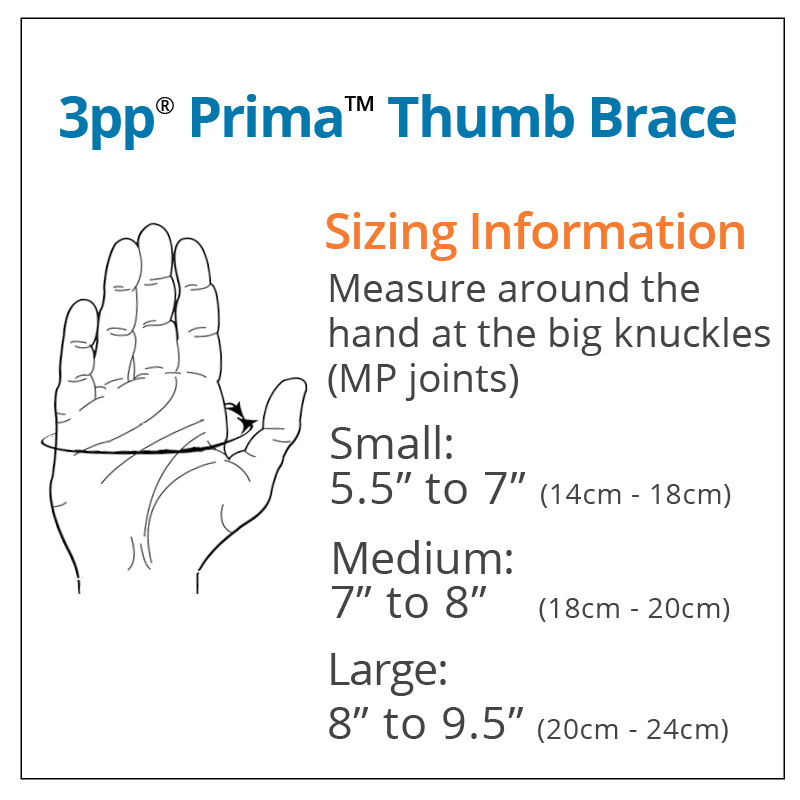 Adjustbale Thumb Spica Splint