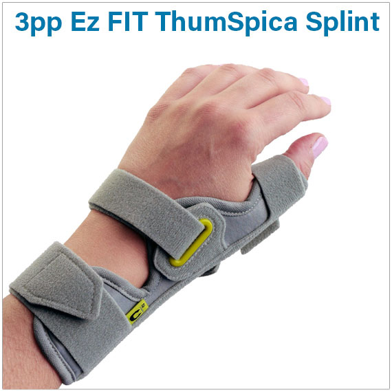 3pp® Ez FIT ThumSpica Splint